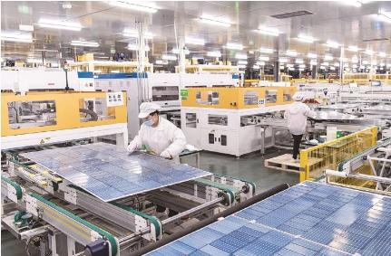 来安晶科新能源公司生产车间。.png